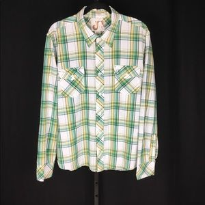 Awesome Vintage Ocean pacific OP button down LS